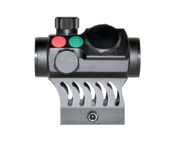 Presma Red Dot Hawk Series Compact Reflex Red/Green Dot Scope with Integrated 1 IN High Profile Picatinny Mount