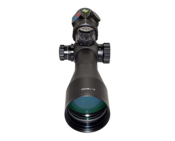 Presma RXR6 Professional Series 3-18X50 Precision Scope, RGB RXR Glass Reticle