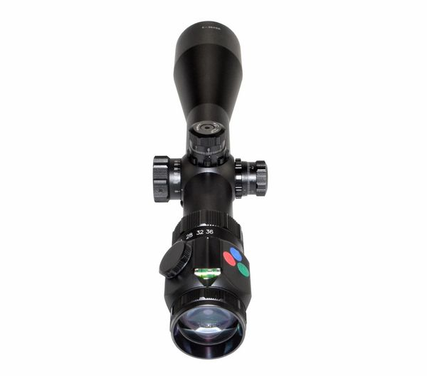 Presma RXR6 Professional Series 6-36X56SFL Precision Scope, RGB RXR Glass Reticle w/ SIDE FOCUS Dial