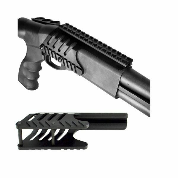 Tactical Accessory Rail Saddle Mount For Remington 870 12 Gauge Shotgun