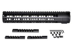 "12"" AR-15 Aluminum M-LOK Handguard with Picatinny Mini Rail, Wide ID 1.75"""