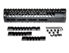 "9"" AR-15 Aluminum M-LOK Handguard with Picatinny Mini Rail, Wide ID 1.75"""
