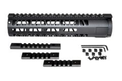 "10"" AR-15 Aluminum M-LOK Handguard with Picatinny Mini Rail, Wide ID 1.75"""