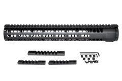 "15"" AR-15 Aluminum M-LOK Handguard with Picatinny Mini Rail, Wide ID 1.75"""
