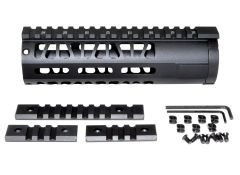 "7"" AR-15 Aluminum M-LOK Handguard with Picatinny Mini Rail, Wide ID 1.75"""
