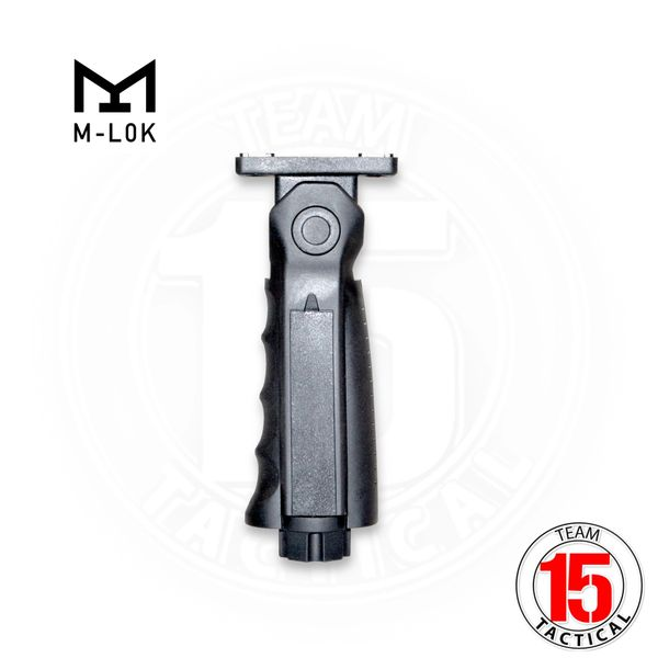 M-LOK 5 position Foregrip with storage, Black