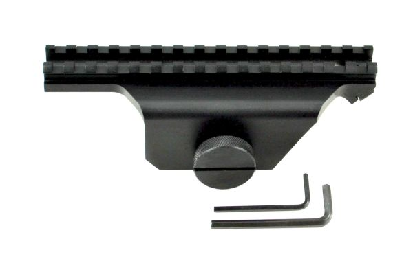 Side Plate Rail Scope Accessory Mount for Ruger Mini 14 Rifle