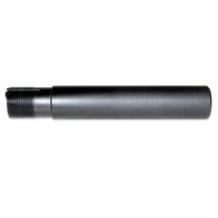 """AR-15 Pistol Buffer Tube, Aluminum, 1.24"""" OD, Black"""