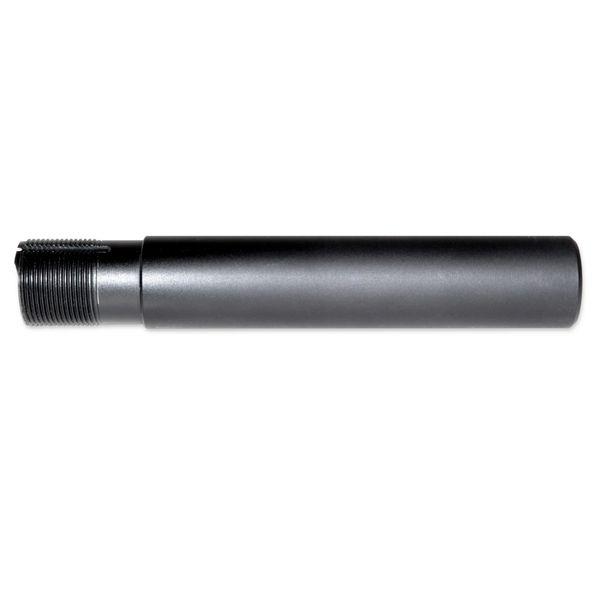 """AR-15 Pistol Buffer Tube, Aluminum, 1.25"""" OD, Black"""