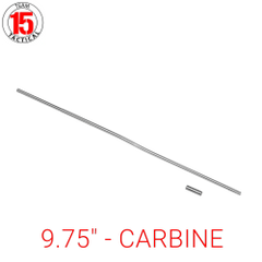 "9.75"" Gas Tube for AR-15, AR-10, LR-308 .223/5.56/.308 - Carbine Length - 9.75 inches - Stainless Steel - Gas Roll Pin included"