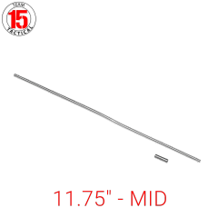 "11.75"" Gas Tube for AR-15, AR-10, LR-308 .223/5.56/.308 - MID-Length - 11.75 inches - Stainless Steel - Gas Roll Pin included"