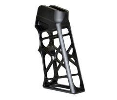 Skeletonized Rear Pistol Grip for AR-15 AR 308 LR-308 - BLACK