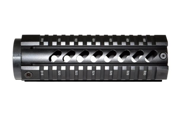 "7.2"" Free Float Quad Rail Handguard Forend for .223 / 5.56 AR-15 - Picatinny"