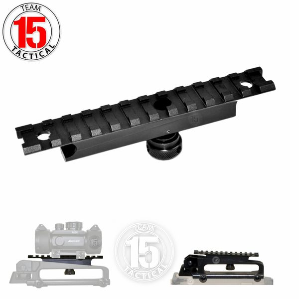 Picatinny Top Rail Accessory Mount for AR15 Standard Carry Handle