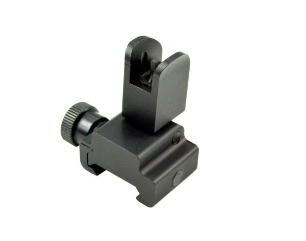 Aluminum Flip-Up Front Backup Sight for Picatinny Rail