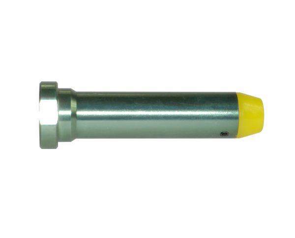 "AR-15 3oz Carbine Recoil Buffer, 3.25"", Metallic green color"