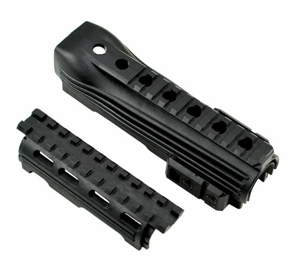 AK47 Polymer Over Molded Railed Handguard Forend (2pc)