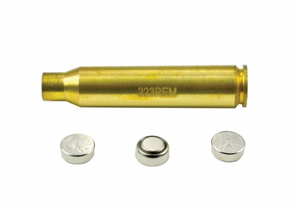 .223 Laser Boresight for Zeroing Scope, Sights etc. - Batteries included