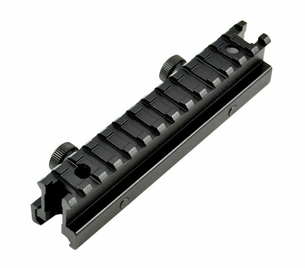 "13 Slot High Profile .94"" INCH Riser Mount for Scopes or Accessories - Picatinny Rail (standard size)"