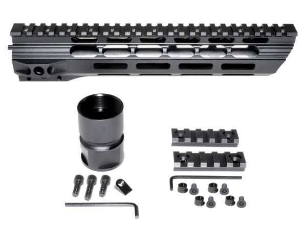 "10.5"" M-LOK Free Float Handguard for AR-15 .223 / 5.56, ID 1.36"" 9.2oz"
