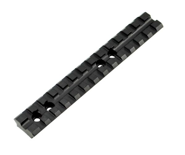 Aftermarket Rail for Mossberg 500 Shotgun Top Rail Accessory Mount - Aluminum - Black