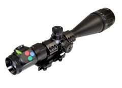 Presma Eagle Series 6-24X50 Precision Rifle Scope with Front Adjustable Objective Lens, Cantilever Scope Mount and Accessories