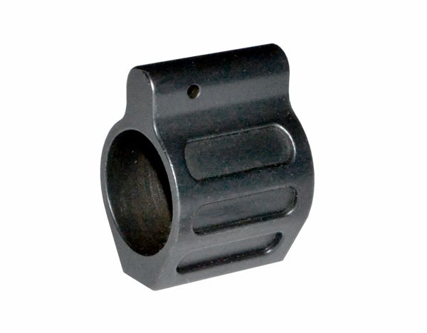 "0.750"" AR15 .223/5.56 Low Profile Gas Block, 0.750 Black Steel"