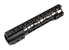 "10"" Presma Jackal 10INCH Slim Free Float Handguard Rail Mount with Barrel Nut for .223 AR15 - Black"