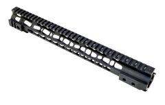 "15"" Presma AR-15 (.223/5.56) Free Float Handguard Forend with KeyMod, Steel Barrel Nut"