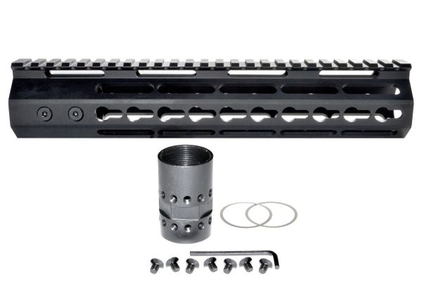 "10"" KeyMod Free Float Handguard for AR-15 .223 / 5.56"