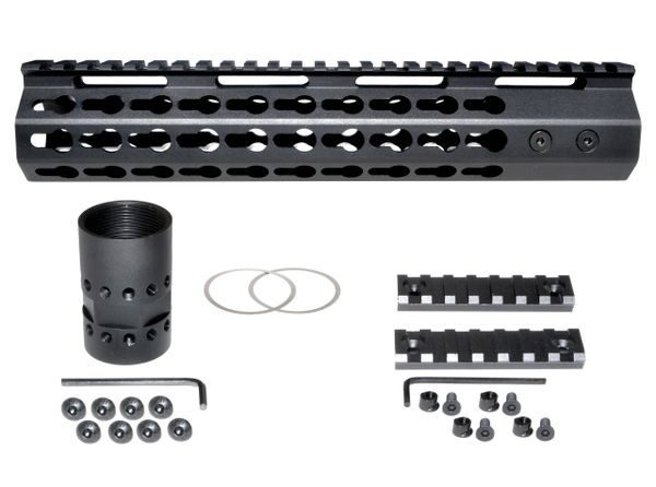 "10"" KeyMod Free Float Handguard for AR-15 2.23 / 5.56"