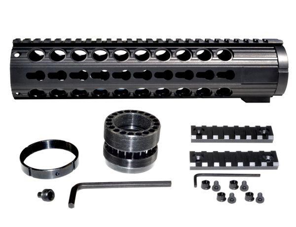 """10"""" .308 LR 308 DPMS LOW Free Float Handguard Rail w/ KeyMod Slots, Extra Wide ID 1.935"""""""