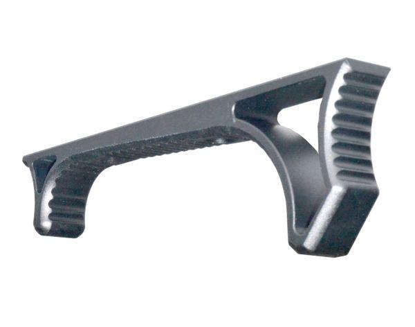 Aluminum Hand Stop for M-LOK Handguard Rail Slot, Black