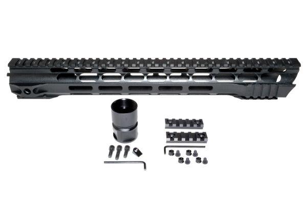 "15"" Free Float Handguard for AR-15 .223 / 5.56, ID oz"