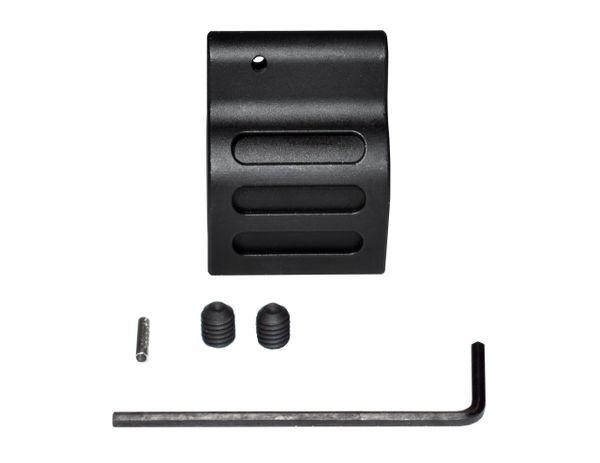 "0.625"" Low Profile Gas Block, Steel, Black (GB625)"
