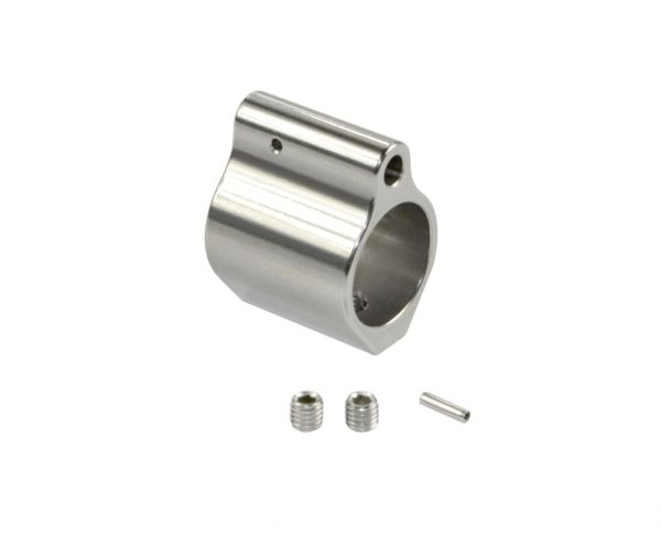 "0.750"" Stainless Steel .750 Low Profile Gas Block for .223 AR15"