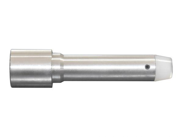 "AR-15 6 oz 4"" Extended Heavy Recoil Buffer, Stainless Steel"