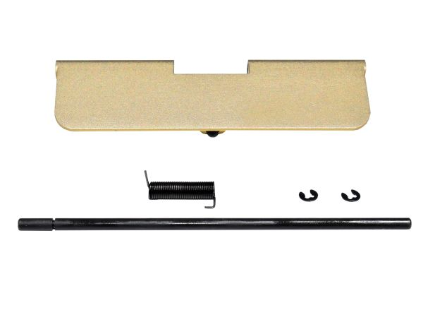 AR-15 Ejection Port Dust Cover Assembly, Aluminum - Gold color