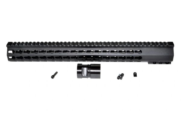 "16.5"" Presma AR-15 .223 Free Float Handguard with KeyMod, Steel Barrel Nut"