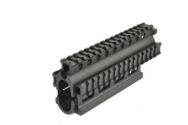 AK47 2pc Forend, Aluminum, Black