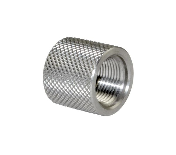 .712 Standard Thread Protector 1/2-28, Stainless Steel, Stainless Steel