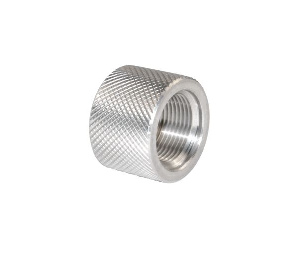 .712 Standard Thread Protector 5/8-24, Stainless Steel