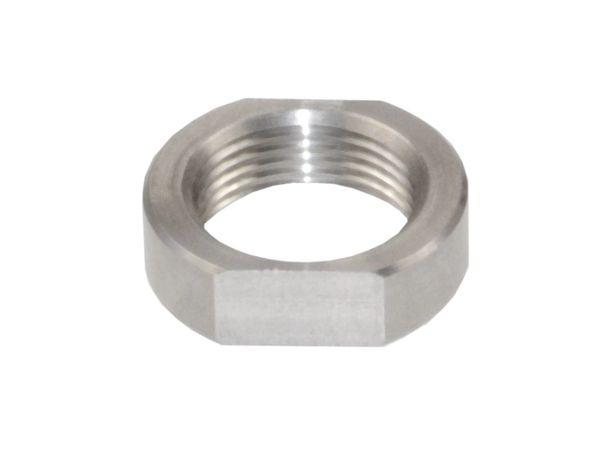 1/2-28 AR-15 Jam Nut, Stainless Steel 1/2x28