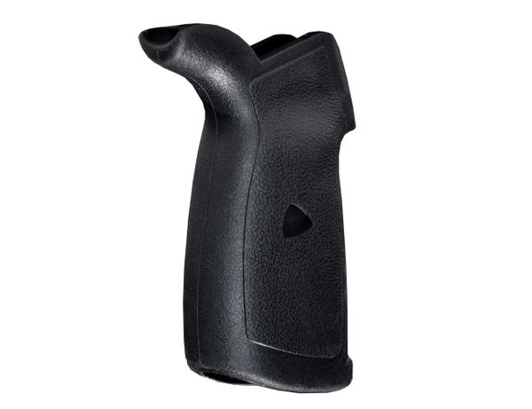 AR15 Rear Pistol Grip, Beavertail, Polymer with Rubberized Coating (GP24)