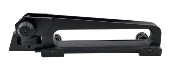 AR-15 Carry Handle - Detachable Carry Handle Aluminum Standard Size w/ Dual Aperture A2 Rear Sight