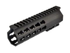 "7"" Presma Free Float Handguard for AR-15 .223/5.56 with Steel Barrel Nut and KeyMod Accessory Slots"