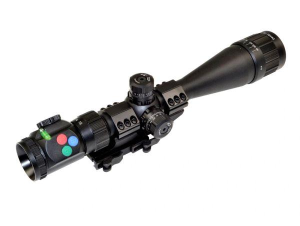 Presma EX Series Professional 4-16X40 Precision Scope AO, RGB RXR Reticle