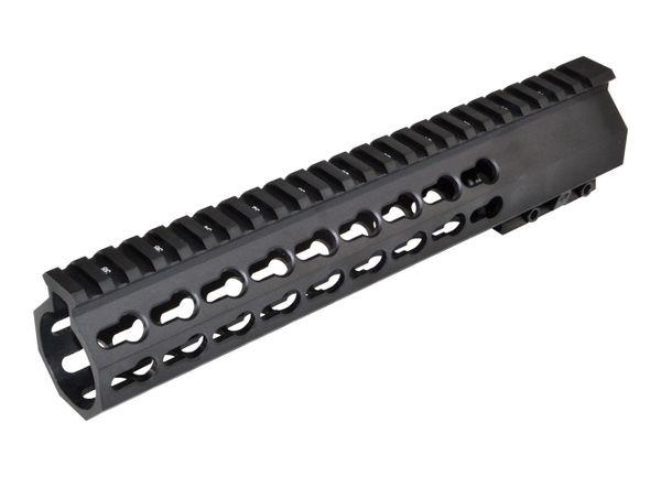 "10"" Presma R-15 .223/5.56 10 INCH Free Float Handguard Forend - Super Slim - Black"
