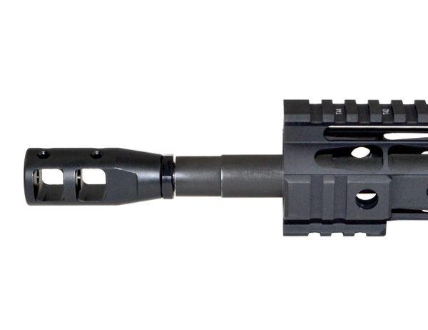 "5/8""x24 Muzzle Brake for .308, Steel, Black"
