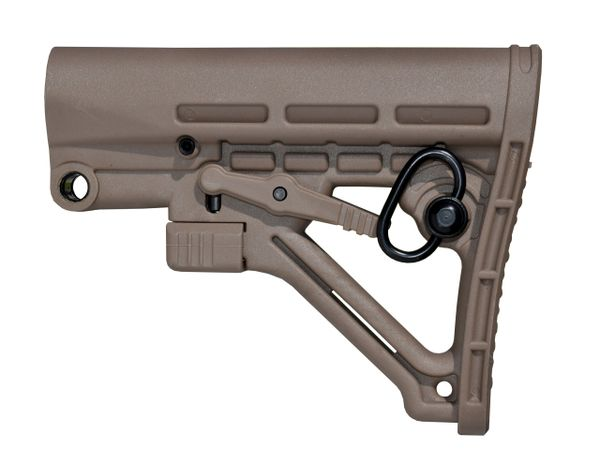AR Mil-Spec Polymer Buttstock Stock - Tan (AAST06-T)